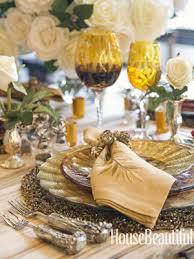 thanksgiving table top ideas black design