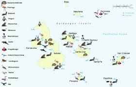 Galapagos Map Activities And Trips From The Hacienda El Dorado Ecuador