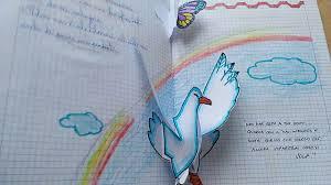 origami gabbiano apertura gabbiano