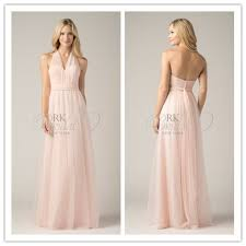 light pink halter dress bd2584 light pink halter chiffon bridesmaid dress patterns 2014 in