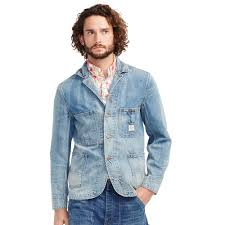 Denim And Supply Jacket Denim U0026 Supply Ralph Lauren Denim Chore Jacket In Blue For Men Lyst