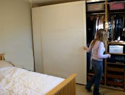 Bedroom Closet Sliding Doors Closet Storage Lovely Closet With Sliding Door Ideas For