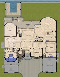 mediterranean style house plan 5 beds 5 50 baths 6812 sq ft plan
