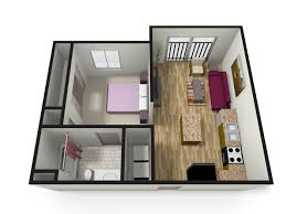 1 bedroom garage apartment floor plans