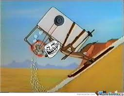 Wile E Coyote Meme - troll physics it worked for wile e coyote by slendymann meme center