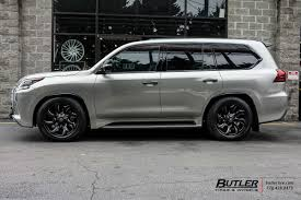lexus wheels and tires packages lexus lx with 20in fuel stryker wheels exclusively from butler