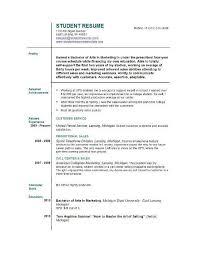 resume template first job job resume template free free resume