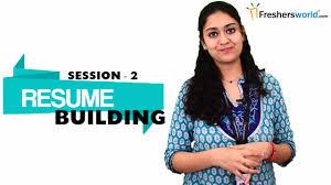 Sap Resume Samples For Freshers by Resume Building For Freshers Part 2 Sample Resume Format