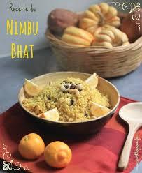 cuisine ayurvedique recette du nimbu bhat riz au citron et aux noix de cajou