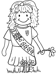 scouts coloring pages for kids kids coloring pages