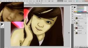 tutorial photoshop cs3 videos youtube photoshop tutorial for cartoon effect edv pinterest