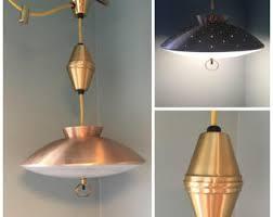 Rewire Light Fixture Vintage Retractable Light Etsy