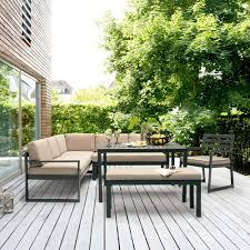 canapé d angle jardin salon de jardin kettler océan canapé d angle table banc