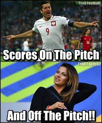 Lewandowski Memes - robert lewandowski and anna lewandowska troll football