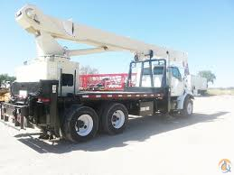 2000 national 990 sterling 8500 rear mounted boom truck crane for
