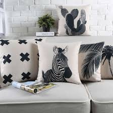 zebra print pillows promotion shop for promotional zebra print