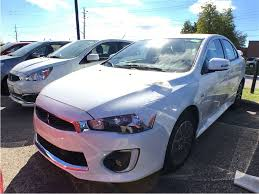 mitsubishi lancer 2017 blue dixie mitsubishi vehicles for sale in mississauga on l4w 3z1