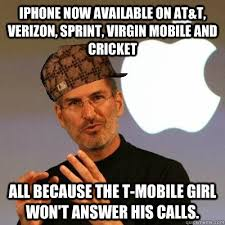 Mobile Memes - iphone now available on at t verizon sprint virgin mobile and