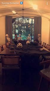 kourtney kardashian showcases her scary halloween decorations kourtney kardashian