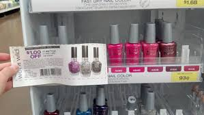 free wet n wild nail polish at walmart happy money saver