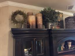 How To Decorate Above Cabinets by Above Cabinet Décor U2013 House Made Home