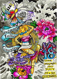 portsmouth international tattoo convention july 2017