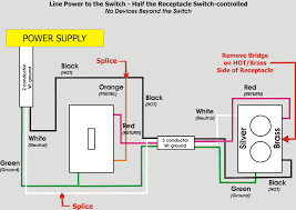 wiring a light switch and outlet together diagram how to wire a switched outlet within light switch from an diagram