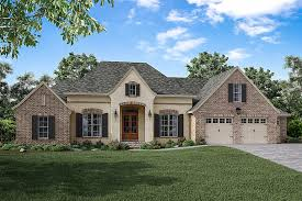 cypress pointe house plan brick accent walls open concept and