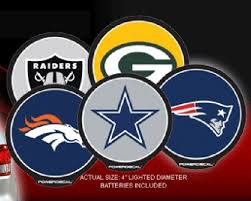 nfl motion activated light up decals all nfl mbl nba college teams magazineprints online store