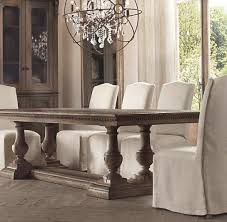 restoration hardware dining table parsons table inspired by