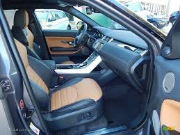 evoque land rover interior ebony vintage tan interior 2016 land rover range rover evoque hse