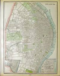 St Louis Mo Map Prints Old U0026 Rare St Louis Mo Antique Maps U0026 Prints
