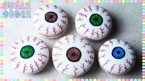 eyeball macarons eyeball cookies sugarcoder youtube