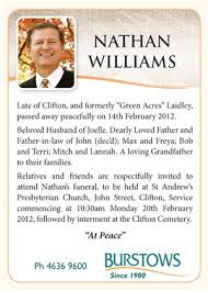 Samples Of Memorial Programs Sample Obituary Newspaper Obituary Examples Help Writing