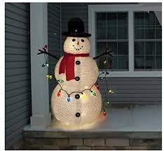 snowman lighted yard displays wikii