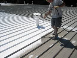 Apoc Elastomeric Roof Coating by Acrylic Roofing U0026 Acrylic Roof Learn More Railings