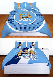 Duvet Club Man City Fc Manchester City Football Club Double Duvet Quilt Cover