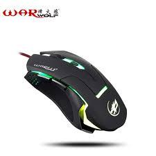 souris pour ordinateur de bureau warwolf pratique filaire gaming souris 6 bouton 3800 dpi confort