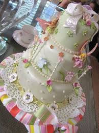 fairy garden baby shower cake cakecentral com