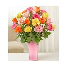 multicolored roses stem multicolored roses uganda flowers and gifts
