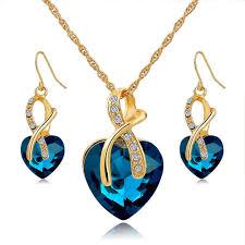 all swarovski crystal necklace images Austrian swarovski crystal necklace earring set amosh european jpg