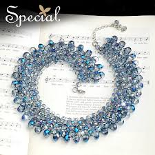big crystal statement necklace images Special new fashion big chunky necklace crystal maxi necklace for jpg