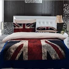 American Flag Bedding 3pcs 4pcs Uk Flag Bedding Set Twin Full Queen Size Usa Flag Duvet