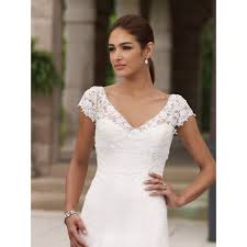 gama mama wedding dresses with cap sleeves and sweetheart neckline