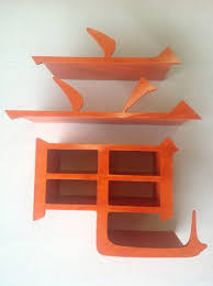 hand crafted unusual shelving unit by queen of all mediums llc
