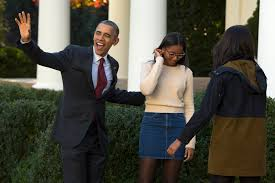 bush offer obama s daughters advice on being former