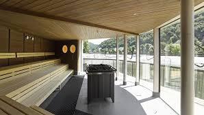 Thermalbad Bad Ems Flusstherme In Bad Ems Von 4a Architekten Schwimmende Sauna