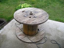 table basse touret bois déco table jardin touret aixen provence 13 table de jardin