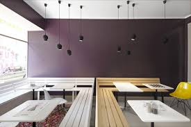 Bench Restaurant Small Restaurant Interior Design Latest Minimalist Interior Style