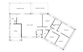 plan maison 120m2 4 chambres plan maison 4 chambres 120m2